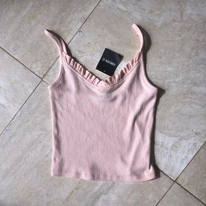 forever 21 light pink cami/tank